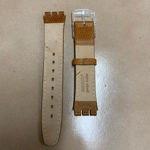 Swatch Accessories - *New Generic Swatch® Watch Band Light brown*